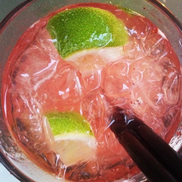 Strawberry Caipirinha / Homemade