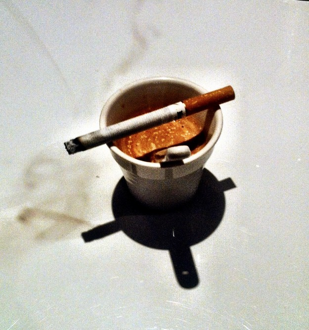 """Cigarettes and Coffee in the """"Cave"""""""