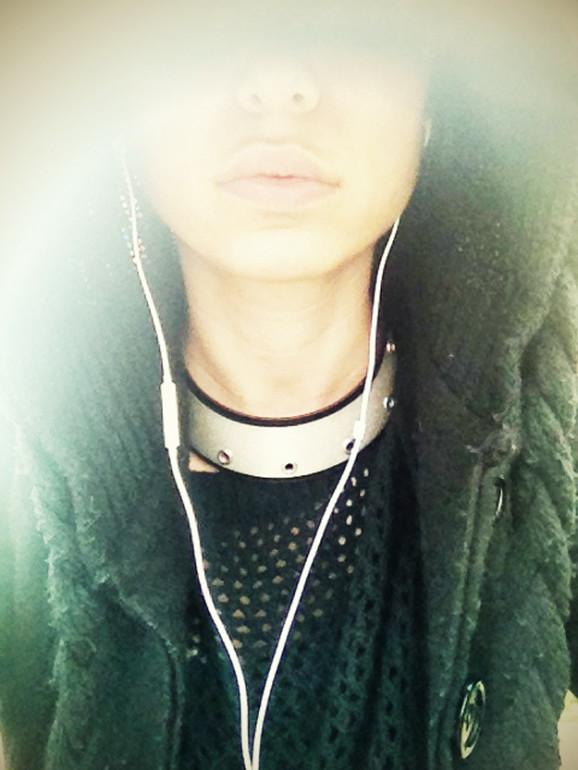 Black Hoodie / Zara _ collar