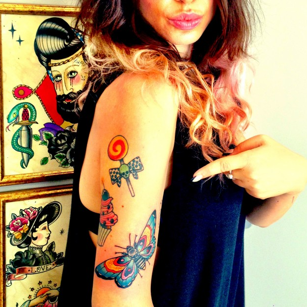 Flash Art of Andrea Natale @ Black Rose tattoo studio