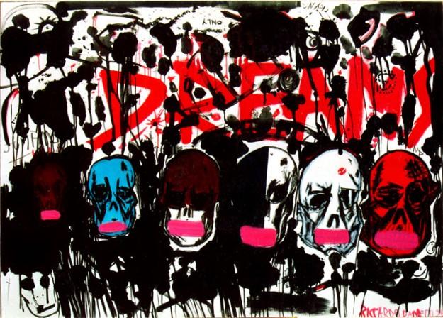 "Riccardo Dametti /  ""Dreams"" cm 200x140"