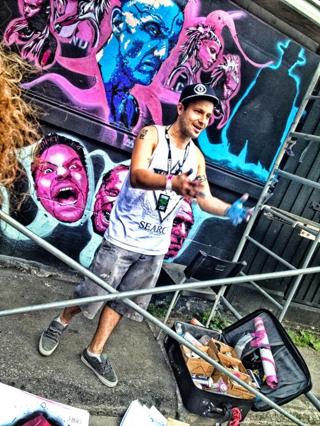 Under Pressure - International Graffiti Convention