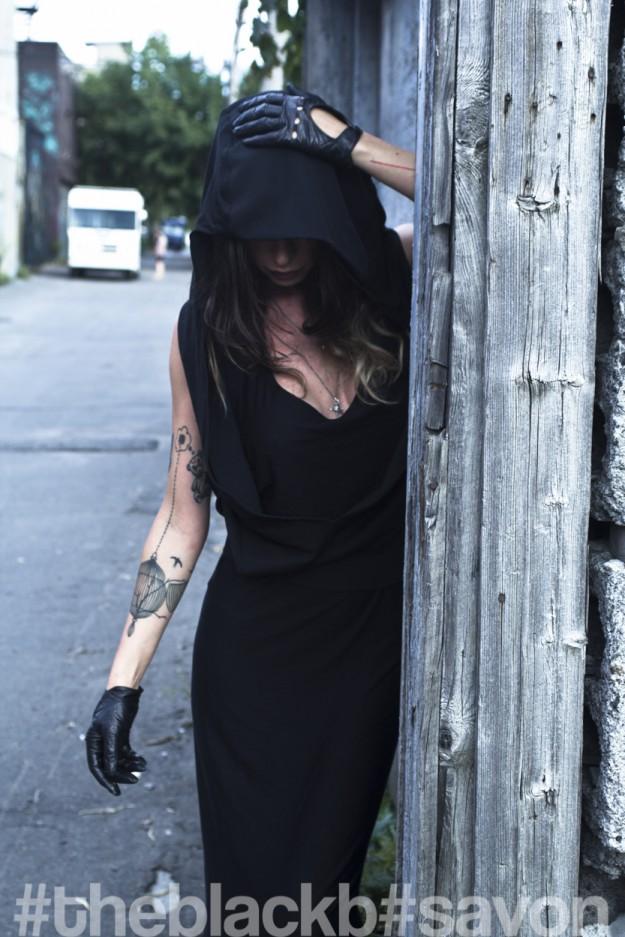 Valentina Bazoli // Hooded // exclusive for THEBLACKB.