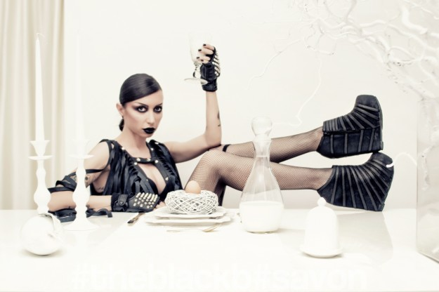 "ByTheR_evolution // TheBlackB // ""WhiteDinner""editorial"
