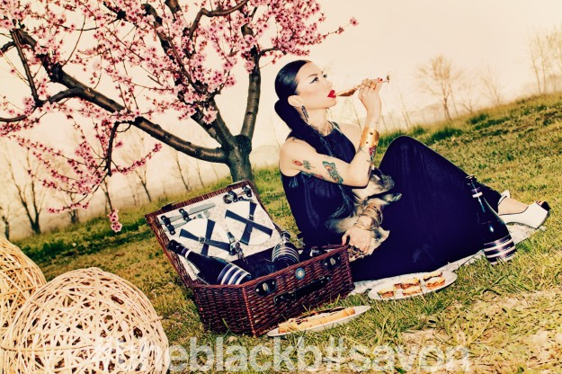 """ROSEMANTIC"" // THE BLACK B EDITORIAL"