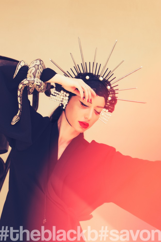 BYTHER // The GEISHA and The SNAKE // TheBlackB editorial