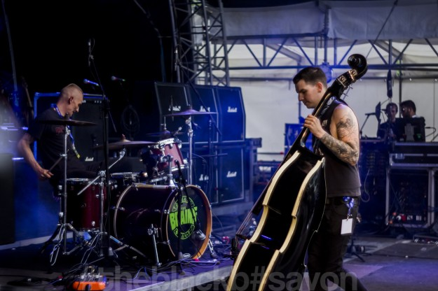 The Brains MTL // rock im ring festiva // The Black B editorial